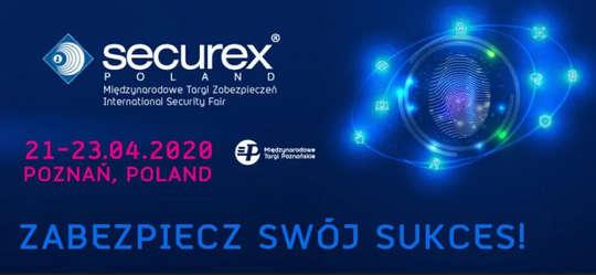 18-20 listopada Securex 2020 - ZAPROSZENIE